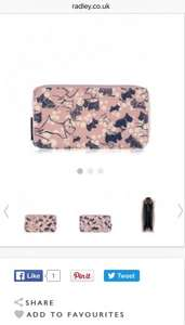 Radley Cherry Blossom Purse @ Radley £21 was £42