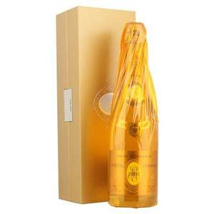 Louis Roederer Cristal Brut Champagne Vintage 2007 75cl + Free Hine Antique Cognac Minature + £5.83 Quidco £146.94 delivered @ drinksupermarket