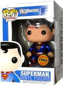 RARE Superman Special Chase Edition 07 FUNKO POP! VINYL £6.66 @ Sainsburys