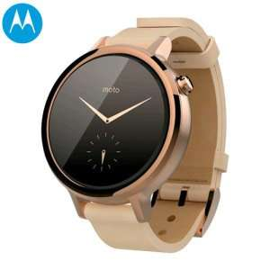 Motorola Moto 360 2nd Gen SmartWatch 42mm - Rose Gold women's £201.98 delivered @ MobileFun