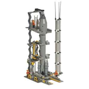 Blox Space Rocket And Launch Tower 720 Piece! Half Price £12 Free C&C @ Wilko