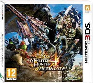 Monster Hunter 4 ultimate Nintendo 3ds £14.00 @ Tesco instore