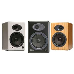 Audioengine A5+ Active Speakers (Black or White) - £202.50 (After Voucher) + 8.5% Quidco @ Advanced MP3 Players
