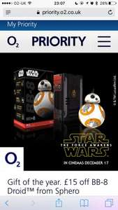 Sphero BB-8 £99.99 with O2 Priority
