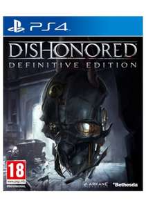 Dishonoured Definitive Edition PS4/Xbox One  £7.49 @ Argos