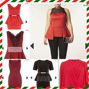 Dorothy Perkins Women's Plus Size Sale (Larger Lady) up to 50% off prices from £10 Loads of lovely Christmas outfits
