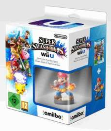 Super Smash Bros. For Wii U With Mario Amiibo Game back in stock £34.99
