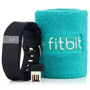 Fitbit Charge HR Activity & Sleep Tracker with Heart Rate Monitor (Small or Large & in 3 Colours Black, Plum or Tangerine) £85.93 Delivered @ QVC (3 Easy pays too) (1st payment £32.61 inc post & then 2 further payments of £26.66 every 30 days if kept