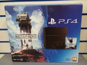 PS4 500GB Star Wars Battlefront Bundle + FIFA 16 + Uncharted (Nationawide) £299 @ Tesco