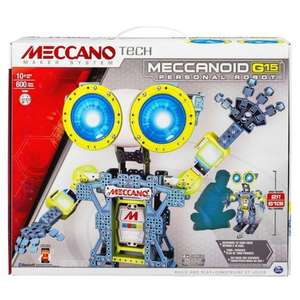 Meccano Meccanoid Robot G15 £99 (Was £169.99) Also 4ft Meccanoid £199.99@Smyths Toys