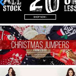 Blue inc All Stock £20 or less, a decent brand