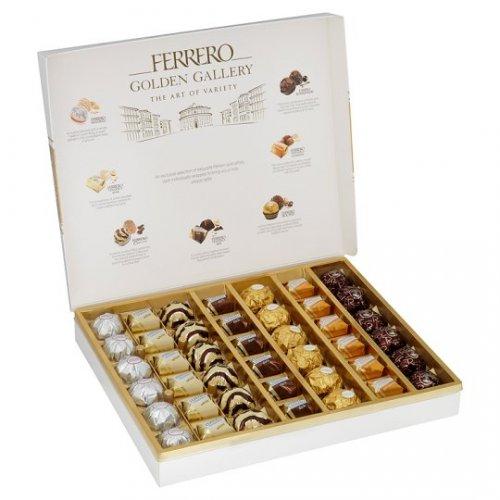 Ferrero Golden Gallery 42 Piece 401g £7.50 Tesco, Martin Heron, Bracknell (RRP 12.50) (instore only).