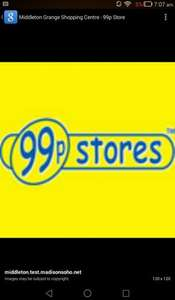 3 for 2 on all toys 99p stores