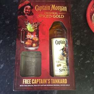 Captain Morgan Spiced Rum (70cl) with Tankard £13 @ Morrisons