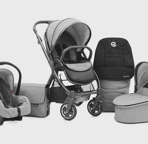 BabyStyle Oyster 2 Exclusive 3in1 Travel System-Grey - Kiddies Kingdom - £599