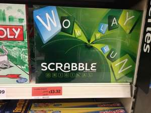 Scrabble Board game - £13.32 @ Sainsbury's instore