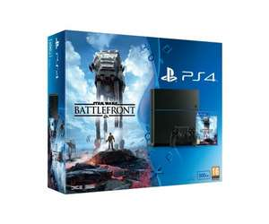 Sony PlayStation 4 (500GB) with Star Wars Battlefront - £249.85 - Amazon (Or with Black OPS 3 or Nathan Drake Collection at Shopto)