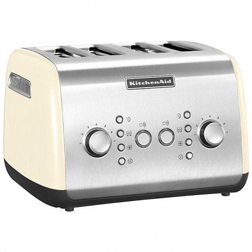 KitchenAid 4 Slice Toaster Cream or Red half price @ John Lewis £74.95