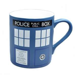 TARDIS mug - BBC Shop - reduced to £5.99 delivered from £8