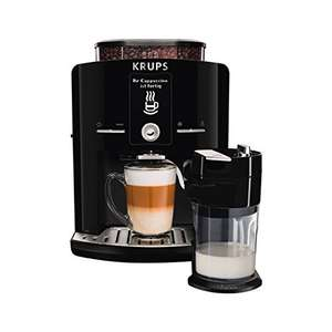 KRUPS EA8298 coffee machine Latt'Espress One Touch function (1.7 L, 15 bar, LC display, Cappuccinatore) black  £262.75 with delivery @ Amazon.de
