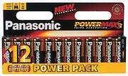 Panasonic 12 pack AA (for toys, naughty toys etc) Alkaline Batteries, @ TLC trade counters, £3.30