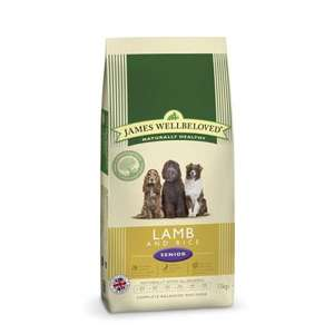 James Wellbeloved Senior Lamb and Rice 15 KG @ Lovepets