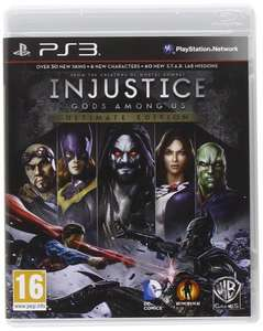 Injustice: Gods Among Us Ultimate Edition PS3 at amazon / Lightening deal for £5 (prime), £6.99 (non-prime)
