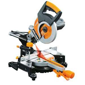 Evolution RAGE3-S 210mm Multipurpose Sliding Mitre Saw  - Refurb C Grade 230v @ ebay / evooutlet