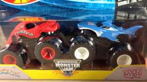 Hot Wheels Monster Jam double pack at home bargains £4.99 (INSTORE ONLY)