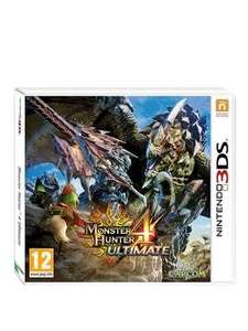 Monster Hunter 4 Ultimate 3DS £19.99 + Free Click & Collect @ Very