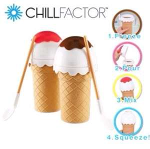 Chill facter Ice cream maker  £3.99 at Home Bargains