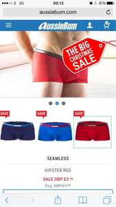 Aussiebum boxer shorts - £2.96 delivered