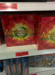 Articulate Board Game, £16.50, Sainsbury's