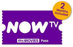 PayPal Event : 20% off Now TV Movies & Entertainment Pass - was 15 now 12 quid @ Paypal