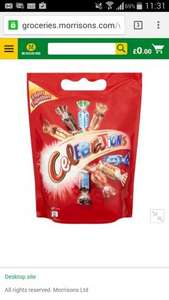 Celebrations pouch 2 for £ 5.00 in morrisons