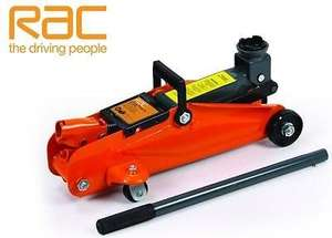 RAC 2 tonne trolley jack with case £20.91 @ Euro car parts
