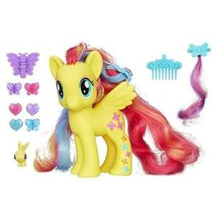 My little pony fluttershy deluxe fashion pony normally £16.99 now £9.99 (prime) £13.98 (non prime) @ Amazon