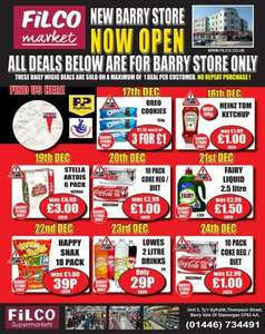 Offers @ Filco (Barry)