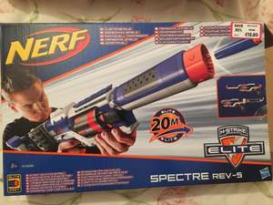 NERF N-Strike Elite Spectre Rev-5 Blaster - £12.50 @ The Entertainer instore
