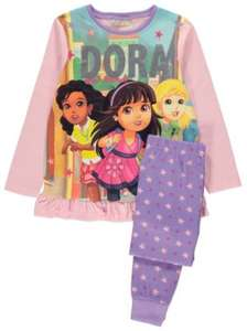 ** Nickelodeon Dora the Explorer Pyjamas only £4 @ George (Free CnC) **