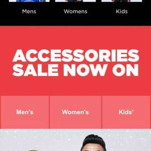 JD Sports accessories sale