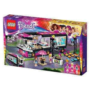 LEGO Friends Pop Star Tour Bus 41106 £34.99 (RRP £49.99) @ Smyths Toys - Free delivery or free click and collect [1 @ £32.51 at Amazon (Warehouse deal - Very Good condition)