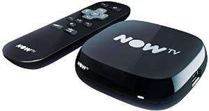 NOW TV Box + 4 Month Movie Pass or + 6 Month Entertainment Pass £15.99 @ Amazon Lightning Deal