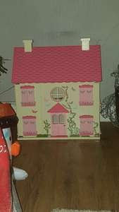 Wooden dolls house £10.00 @ Asda instore