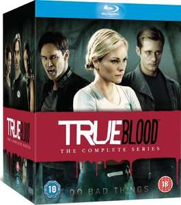 True Blood - Complete Season 1-7 [Blu-ray] £49.99 @ Amazon plus pos £4 on amazon video