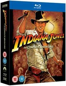 Indiana Jones Blu Ray Box Set £12.13 @ zoom