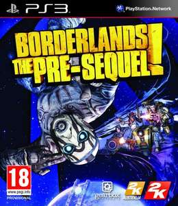 Borderlands The Pre-Sequel! PS3/Xbox 360 [Clubcard Boost] £4 @ Tesco Direct
