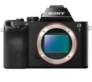 SONY Alpha 7 body only £714 @ pixmania