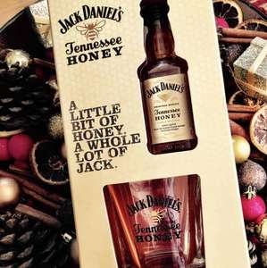 Jack Daniel's Tennessee Honey Gift Set (50ml Bottle & Glass Tumbler) - £4 at ASDA (In-Store)