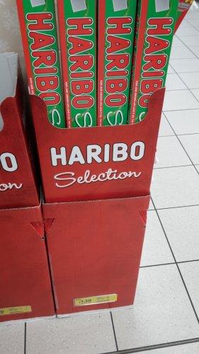 Haribo selection box £1.50 at Tesco